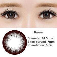 Kitty Kawaii Sakura Black/Brown Big Eye Soft Color Contact Lenses
