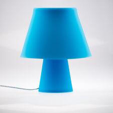 Lámpara de Mesa Numen en Azul Hecho Del Silicón Individual Moldeable Noche E27