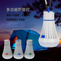 Outdoor LED Light Hanging Tent Camping Bulb Fishing Lantern Lamp Accessories