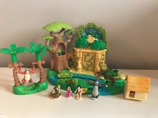 Disney Polly Pocket jungle book complete with Figures