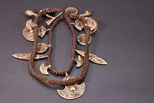 NAGA Necklace brass bell design Handmade Small bell pendants Ethnic Jewelry
