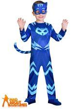 PJ Masks Costume Boys Girls Superhero Kids Child Fancy Dress Official UK Outfit Catboy 3 - 4 Years
