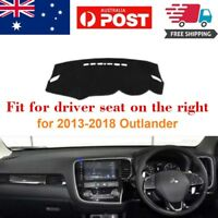 RHD Dash Mat Dash Cover Dashboard No Slips For Mitsubishi Outlander 2013-2018