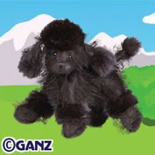 WEBKINZ - Full size Black Poodle with sealed code FREE SHIPPING