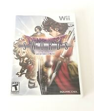 Nintendo Wii Dragon Quest Swords Masked Queen Tower Of Mirrors Video Game U New