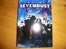 SEVENDUST SIGNED RETROSPECT DVD AUTOGRAPHED BY ENTIRE BAND CD RECORD