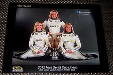 2012 NASCAR MISS SPRINT CUP KRISTEN BEAT KIM COON JACLYN RONEY RARE My Last One