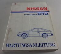 Workshop Manual/Maintenance Manual Nissan Silvia S12 Stand 05/1984