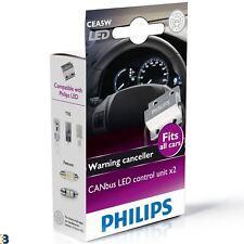 PHILIPS CANBUS unità di controllo 12V 5W Avvertenza PER LAMPADE A LED annullatore di TWIN