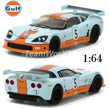 GREENLIGHT 29885 2009 Corvette C6.R Gulf Oil Hobby Exclusive Diecast Car 1:64