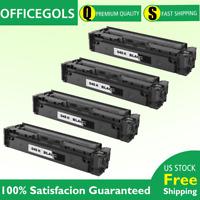 4 PK Black 045 Toner for Canon MF634Cdw MF632Cdw LBP612Cdw LBP611Cn 1243C001