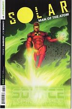 SOLAR MAN OF THE ATOM #1 Source Comics and Games Variant Cover Dynamite 2014 NM