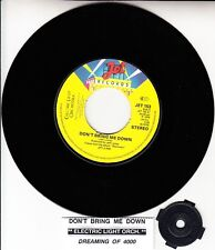 """ELECTRIC LIGHT ORCHESTRA (ELO)  Don't Bring Me Down 7"""" 45 rpm vinyl record NEW"""
