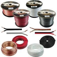 5-100m Lautsprecherkabel 100% CCA Kupfer Audiokabel Boxenkabel