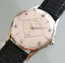 !! MONTRE ANCIENNE VINTAGE WATCH 50'S ELGIN WHITE GOLD 14K AND DIAMONDS !!