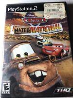 Cars: Mater-National Championship Playstation 2 PS2 - No Manual