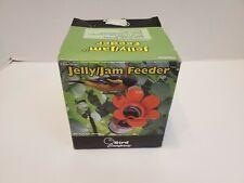 Jelly Jam Orioles Bird Feeder Large Orange Blossom Fliteline