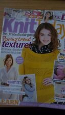 KNIT TODAY KNITTING MAGAZINE APRIL 2013 CARDIGANS TOYS SINGING IN THE RAIN LION