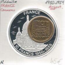 MEDAILLE Commémorative - PARIS MONTMARTRE - Métal Argenté // Qualité: Neuve