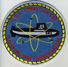 USS Tunny SSN 682 - Sub & Atom BC Patch Cat No B351