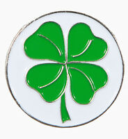 Four Leaf Clover Golf Ball Marker - Package of 2