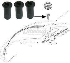 Seals for VW Emblem T1 Beetle Bug T3 Ghia Badge Rubber Front Grommet Packs of 3