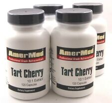 4X Tart Cherry Extract 10:1 550 Mg 240 Capsules Arthritis Gout Joint Pain Sleep