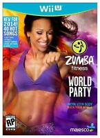 Zumba Fitness World Party for Wii U Dance Workout Exercise Game Only