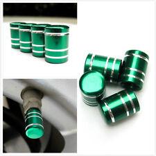 round shape rim wheel tire air valve green cap rubber ring universal fit vvc2g2