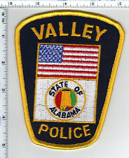 Valley Police (Alabama) Shoulder Patch - New from 1989