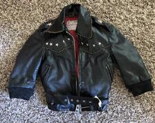 Penney's Kids Size 4 Leather Jacket