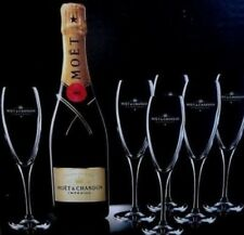 MOET CHANDON CHAMPAGNE IMPERIAL FLUTES X 12  BNIB CHEAPEST ON EBAY NO FIZZ INC