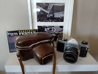 MINT Honeywell Pentax H3 35mm SLR Film Camera + Takumar 50mm f1.8 Lens + Case