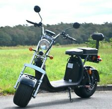 Fat Coco Bike, E-Scooter - 60 V -1500 Watt - Fat Bike - 40 Km/H Straßenzulassung