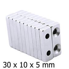 20x Super Strong Magnets Rectangle N35 Block Neodymium Rare Earth Fridge Magnets