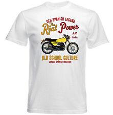 VINTAGE SPANISH MOTORCYCLE BULTACO METRALLA 250 - NEW COTTON T-SHIRT