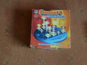 8 PLAYING PIECES (4 RED / 4 YELLOW) FOR CONNECT 4 ADVANCED BY MB GAMES 2002 VERY