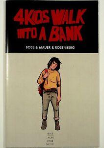 4 Kids Walk into a Bank #4 Emerald City ComicCon Variant Black Mask Rare