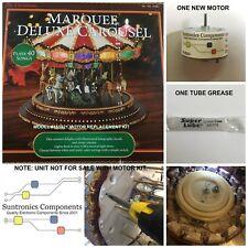 Mr. Christmas Marquee Deluxe Carousel - motor Repair kit model#151821
