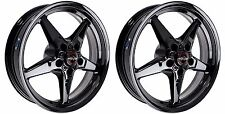 "RACE STAR HONDA ACURA FWD 4x100 15x3.75"" LIGHTWEIGHT DRAG RACING WHEELS 15"" PAIR"