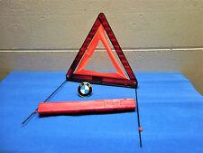 ORIGINALE BMW triangolo di segnalazione NUOVO GENUINE BMW Warning TRIANGLE NEW 7160 6770487