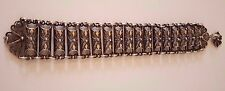 Wunderschönes Silber Armband HANDARBEIT Filigran silver vintage bracelet RAR