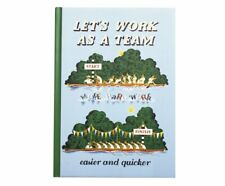 Gift Republic Postal Archive A5 Notebook - Lets Work as a team