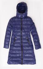 New Moncler Moka Blue, Navy Women Jacket Coat  Size 0 or S 100% Authentic