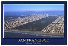 c.1992 SAN FRANCISCO AERIAL VIEW of GOLDEN GATE PARK & CITY~NEW UNUSED POSTCARD