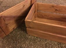 Wooden Non-Lidded Large Home Storage Boxes