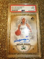 Skylar Diggins 2013 UD SP Authentic WNBA Notre Dame Signed Autograph Auto PSA 9