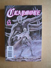 CLAYMORE n°6 Manga Norihiro Yagi Star Comics Point Break 77  [G370A]