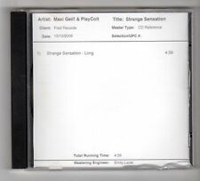 (HB195) Maxi Geil! & PlayColt, Strange Sensation - 2006 Test Pressing CD