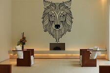 Wall Room Decor Art Vinyl Sticker Mural Decal Tribal Tattoo Fox Beautiful DA068